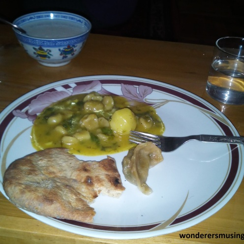 Some traditional dishes in Ladakh