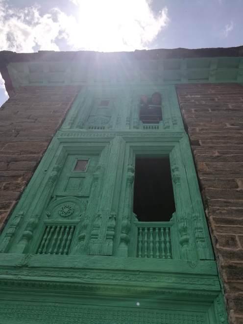 Woodwork adorned windows @ Nabi